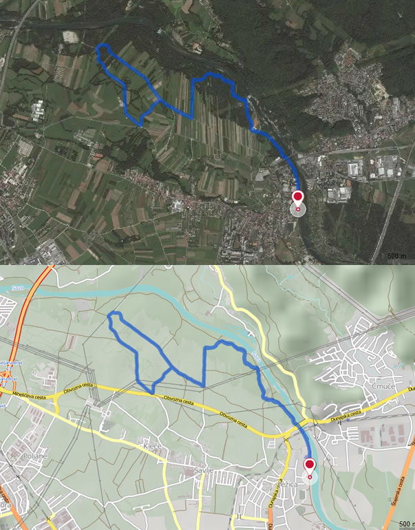 Tek ob Savi 10km/20km